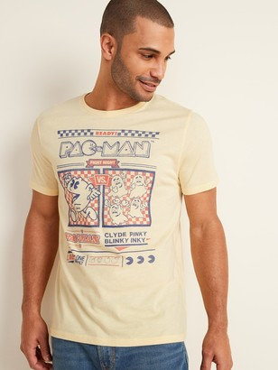 """Old Navy Pac-Man """"Fight Night"""" Graphic Tee for Men"""