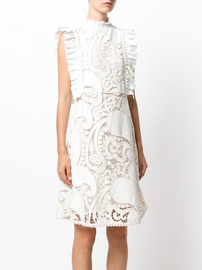 See by Chloe paisley crocheted dress