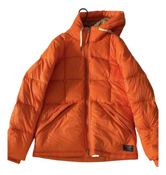 Abercrombie & Fitch Orange Polyester Jackets