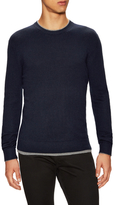 French Connection Oscar Crewneck Long Sleeve Knit Sweater