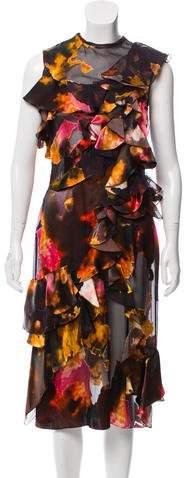 Givenchy Silk Midi Dress w/ Tags