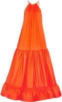 Stella McCartney Cassie tiered silk gown