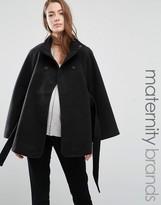Mama Licious Mama.licious Mamalicious Maternity Cape Coat