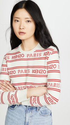 Kenzo All Over Jacquard Sweater