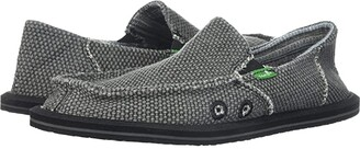 Sanuk Vagabond (Little Kid/Big Kid) (Black) Boys Shoes