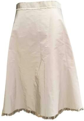 Lanvin Beige Skirt for Women Vintage
