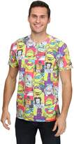 Hybrid All-Over Cast TMNT Sublimated Men's T-Shirt - M