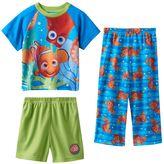 Disney Pixar Finding Dory Toddler Boy 3-pc. Nemo & Dory Pajama Set