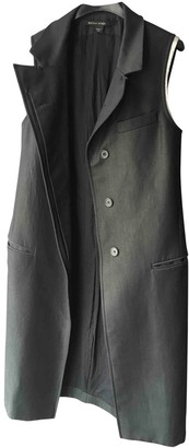 Martine Sitbon Grey Wool Coat for Women