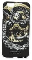 Marcelo Burlon County of Milan Bayo Skull & Snake iPhone® 6 Case, Black