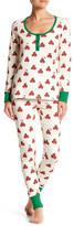 BedHead Hello Kitty Long Sleeve PJ 2-Piece Set