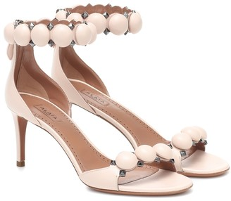 Alaia Bombe 75 leather sandals