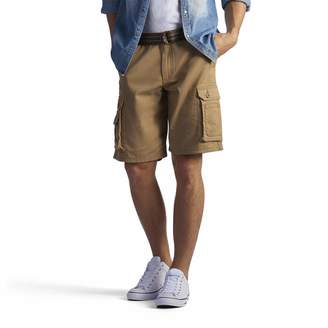Lee Men's Big and Tall New Belted Wyoming Cargo Short