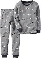 Carter's 2-pc. Glow-in-the-Dark Cotton Pajama Set - Baby Boys newborn-24m