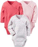 Carter's Baby Girls Multi-Pk Bodysuits 126g251, Assorted, 6M