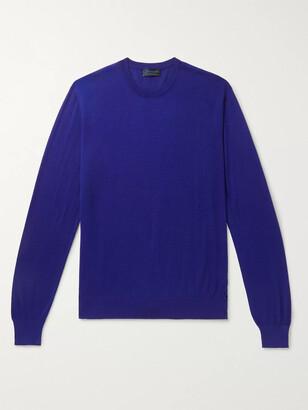 Charvet Cashmere And Silk-Blend Sweater