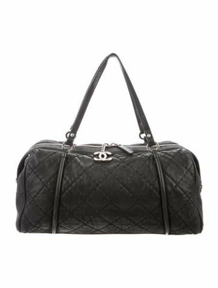 Chanel Relax CC Bowling Bag black