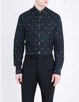 Paul Smith Strawberry print cotton shirt