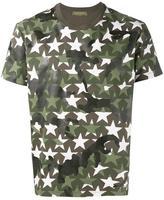 Valentino military star print T-shirt