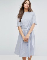 Vero Moda Stripe Shirt Dress