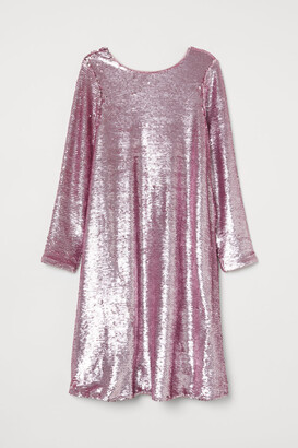 H&M Sequined Dress - Pink