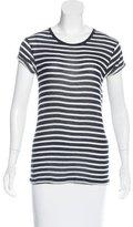 IRO Striped Short Sleeve T-Shirt