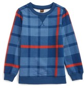 Tea Collection Toddler Boy's Archibald Plaid Pullover