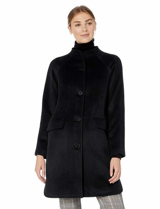 Lark & Ro Amazon Brand Women's Funnel Neck Coat