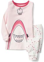 Gap Cupcake shark sleep set