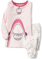 Gap Cupcake shark sleep set