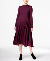 Eileen Fisher Mock-Neck Swing Dress