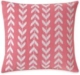 Southern Tide® Coastal Ikat Heart Square Throw Pillow in Coral