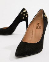 Love Moschino pointed heeled shoes