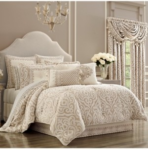 J Queen New York J Queen Milano Sand King Comforter Set Bedding