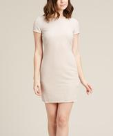 Jump Champagne Glitter T-Shirt Dress