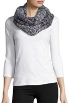 Collection 18 Marled Knit Loop Scarf