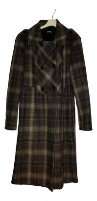 Benetton Brown Wool Coats