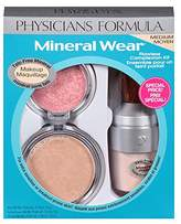 Physicians Formula Mineral Wear Flawless Complexion Kit, Pressed Powder 0.3 oz., Matte Finishing Veil 0.58 Ounce and Pressed Blush: 0.19 oz.