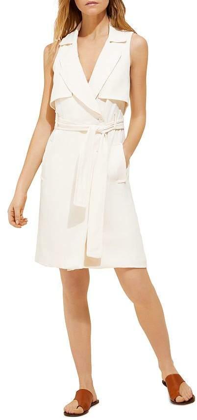 Halston Trench-Style Shirt Dress