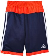adidas Shot Caller Short (Toddler/Kid) - Navy/Red - 5