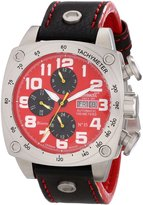 Ingersoll Men's IN2808RD Bison No. 35 Analog Display Automatic Self Wind Black Watch