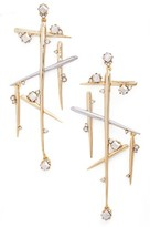Alexis Bittar Women's Crystal Dangle Drop Earrings