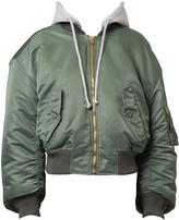 Vetements Bomber Jacket with Hood