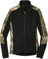 Mato & Hash Womens Camouflage Microfleece Full Zip Jacket - MH - MHL230CSA 2XL