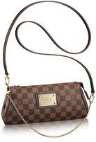 Louis Vuitton Authentic Canvas Eva Clutch Handbag Article: N55213 Made in France