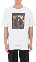 Off-White Men's Painting-Graphic T-Shirt-White