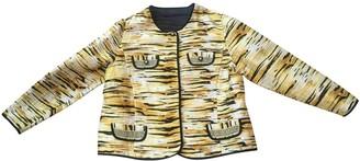 Celine Yellow Silk Jackets