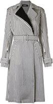 Reinaldo Lourenço striped trench coat