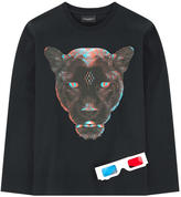 Marcelo Burlon County of Milan Graphic T-shirt and 3-D glasses - Rufo