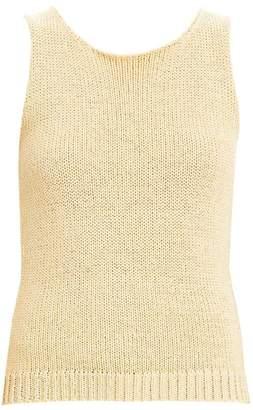 Theory Merletto Sleeveless Knit Shell